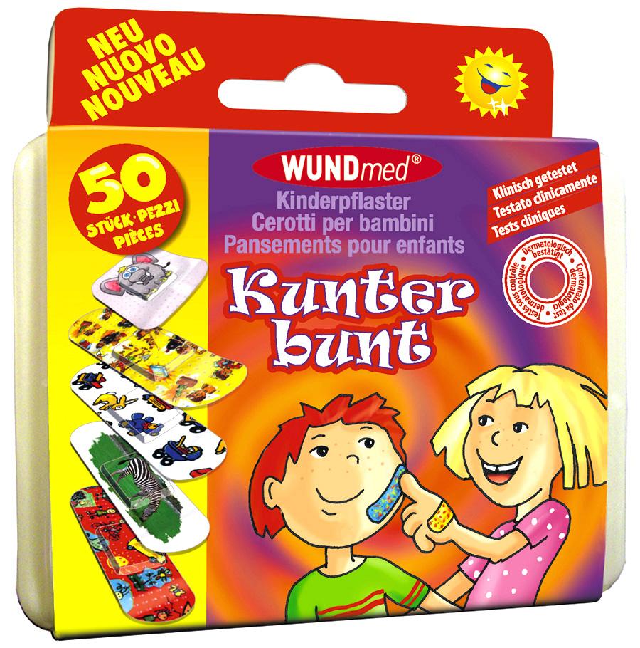 01782 - Kinderpflaster-Box 50-teilig, versch. Motive