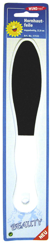 01790 - Hornhautfeile, doppelseitig, 22,8cm