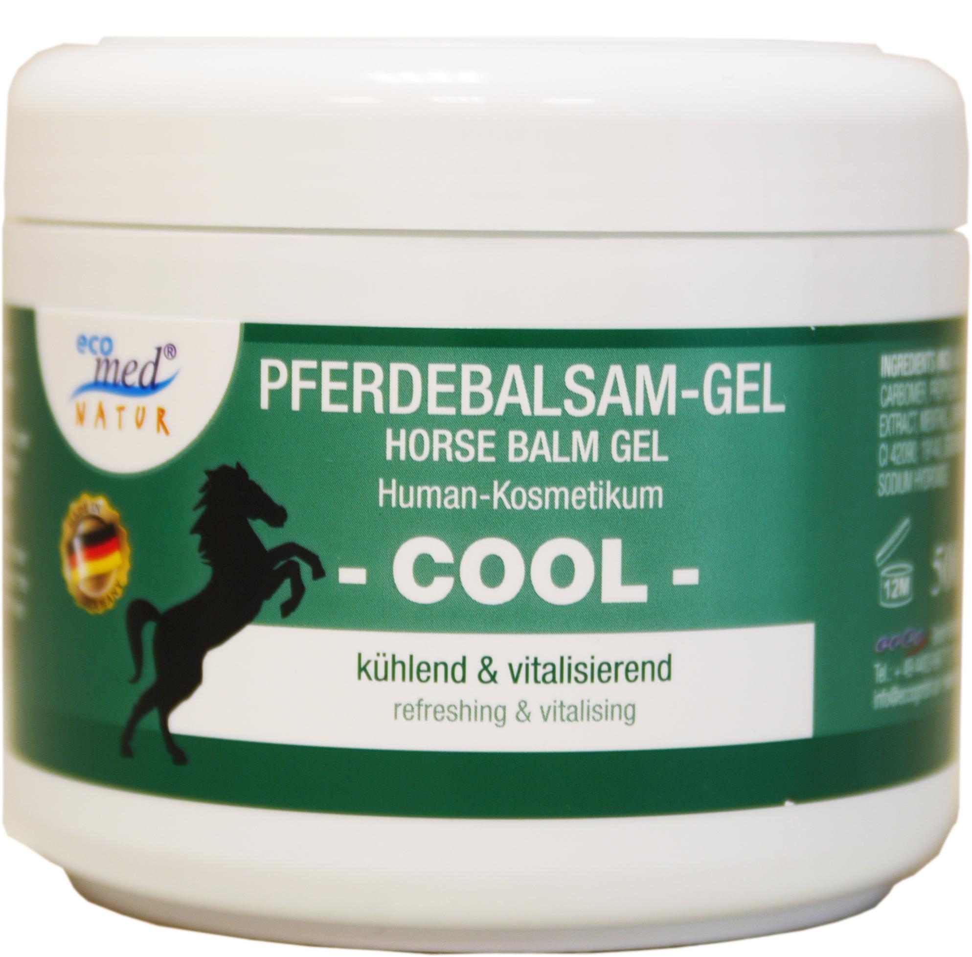 01853 - eco med Natur Pferdebalsam Gel 500 ml