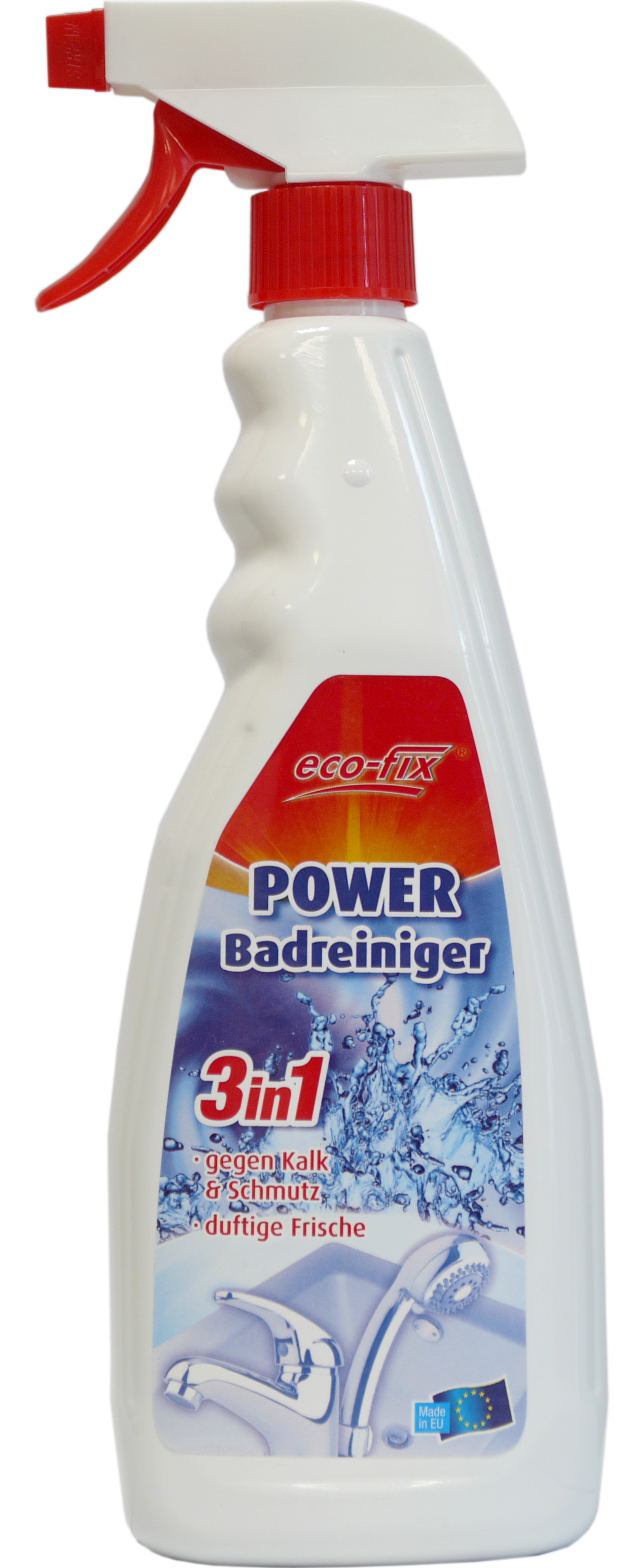 01864 - eco-fix Power Badreiniger Spray 750ml