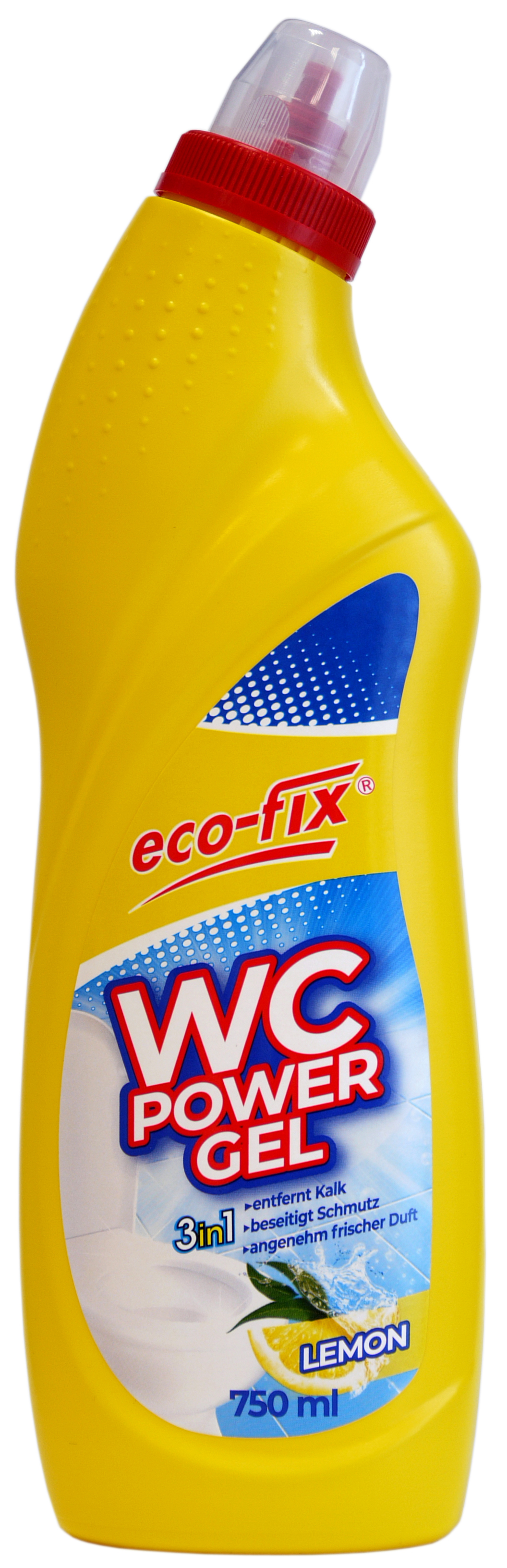 01868 - eco-fix WC Power Gel 750ml- Lemon