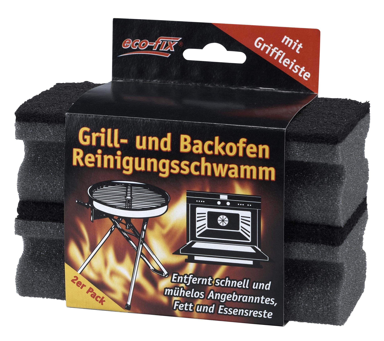 01913 - eco-fix Grill- und Backofen Reinigungsschwamm 2er