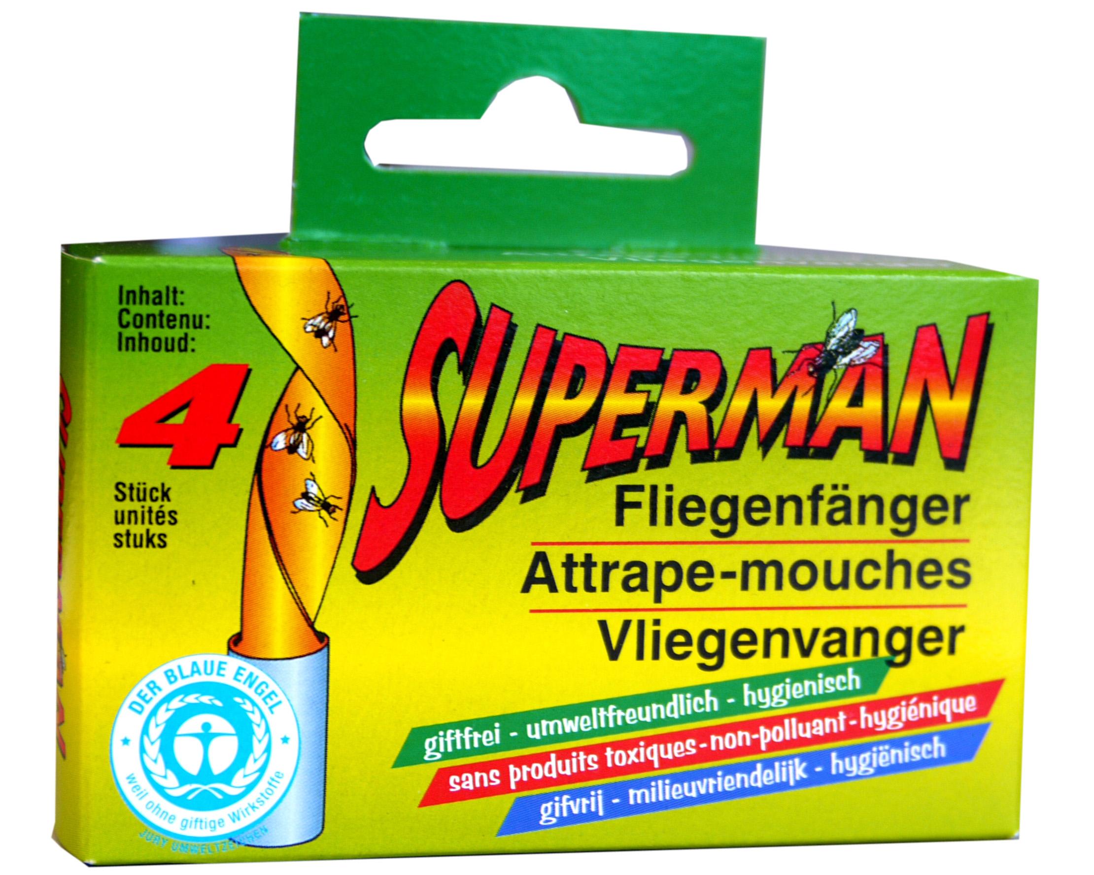 02195 - Fliegenfänger 4er Pack