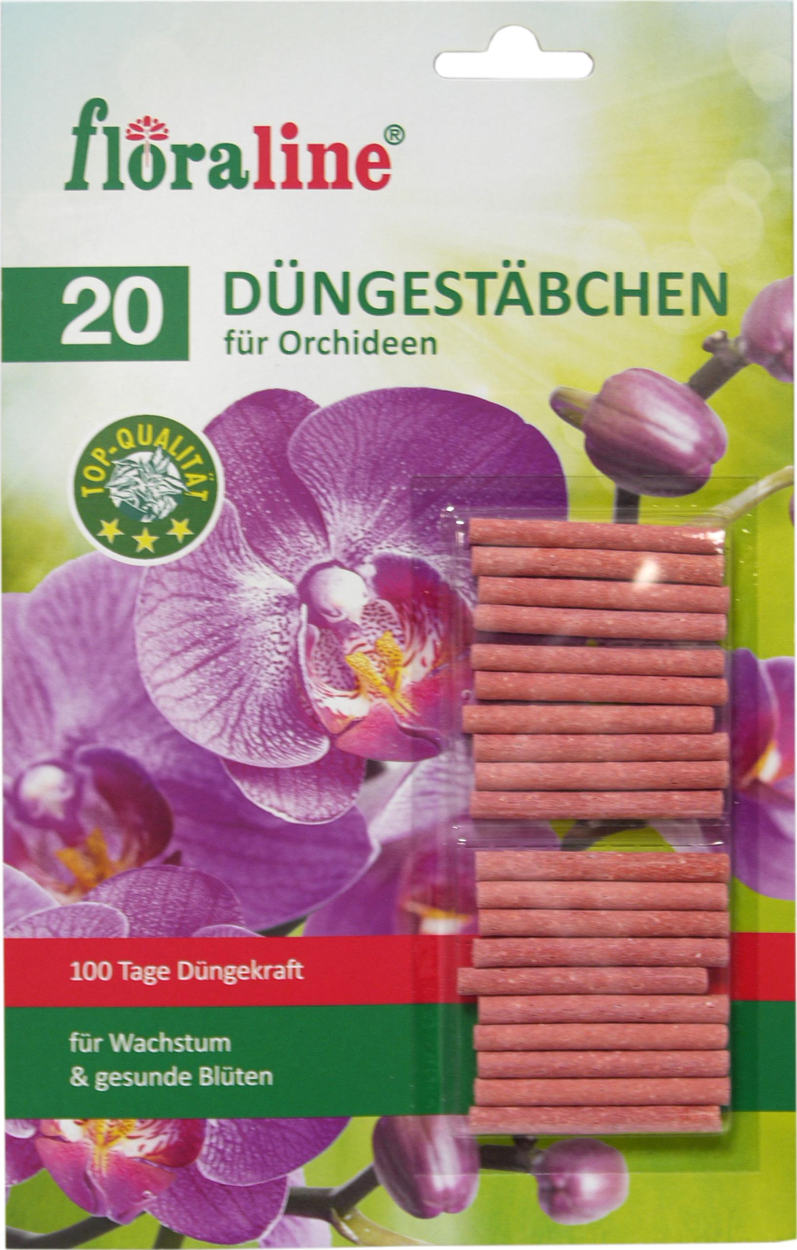 02206 - Düngestäbchen für Orchideen 20er