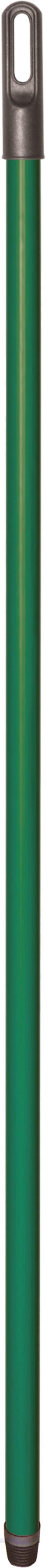 02299 - Besenstiel 130cm, Metall, verstärkt, grün