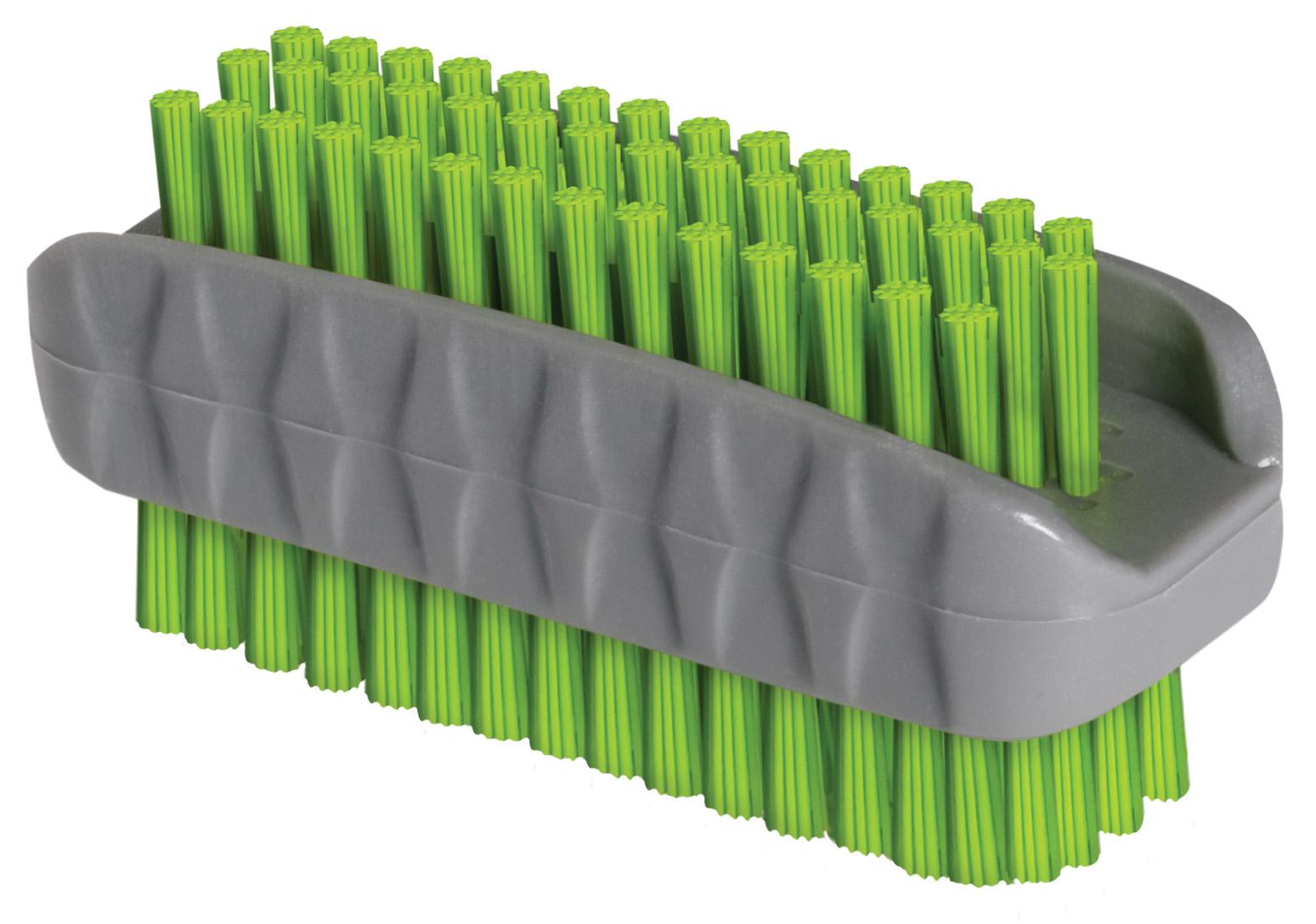 02344 - Nagelbürste, Kunststoff, 2-seitig, 8x2,5cm