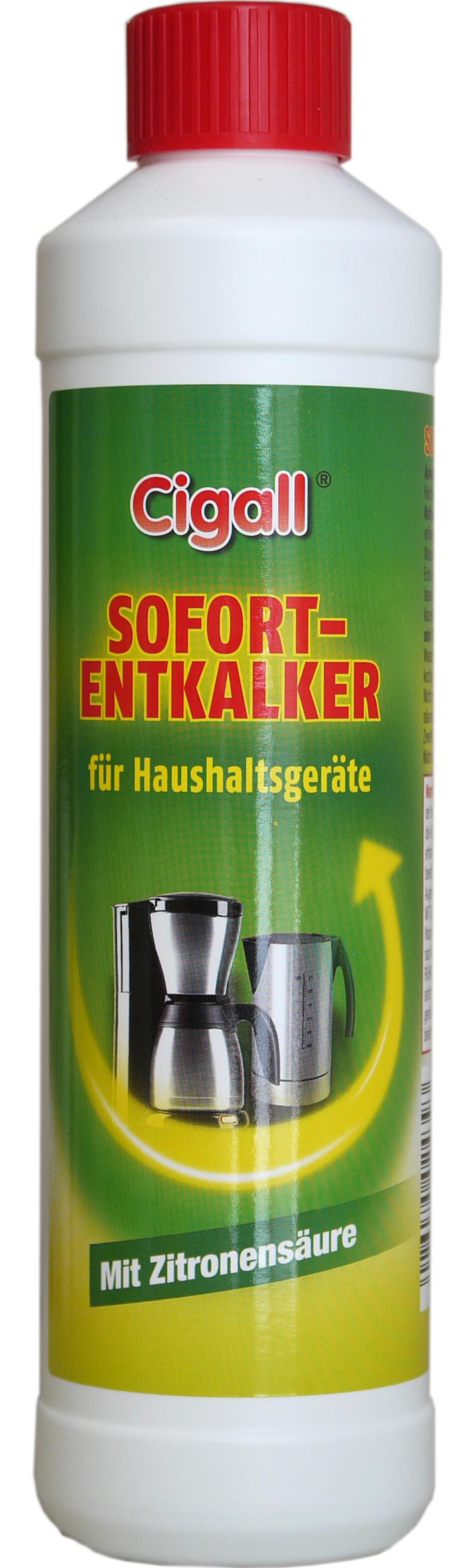 02439 - Cigall Sofort Entkalker für Haushaltsgeräte 500 ml