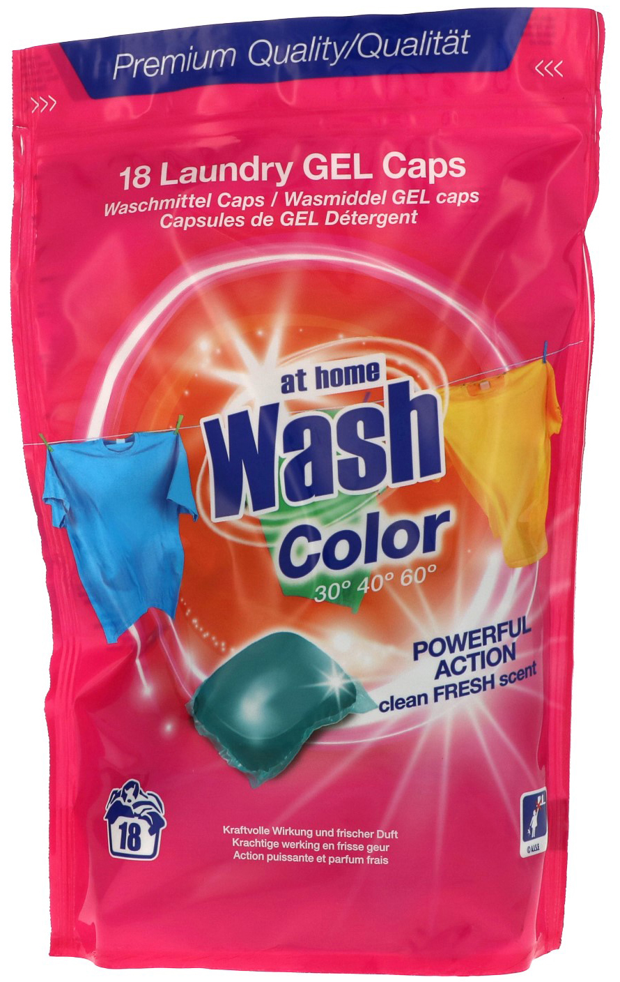 04050 - Laundry gel-caps 18 pieces - color