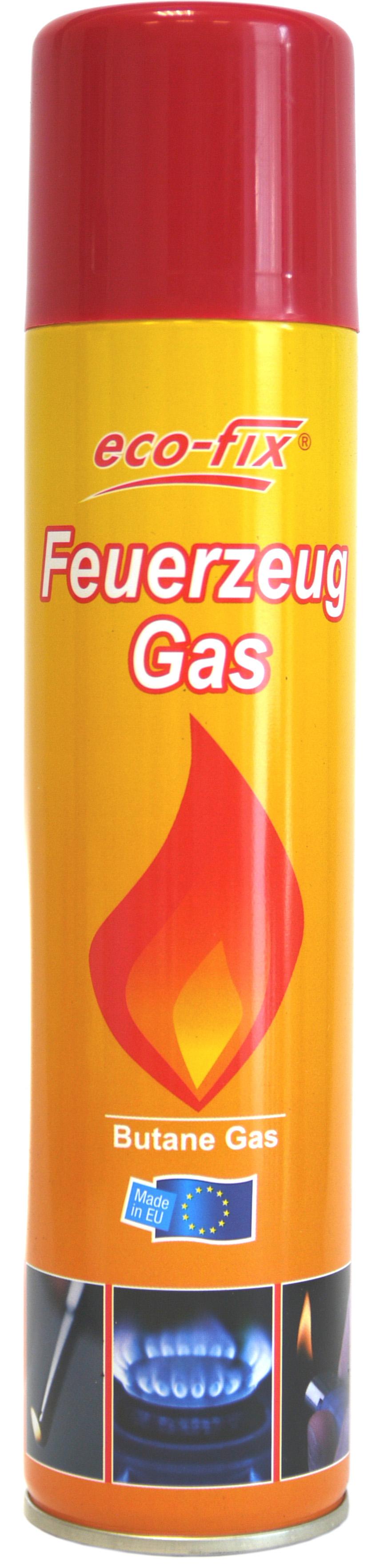 20001 - ecofix Feuerzeug Gas 300 ml