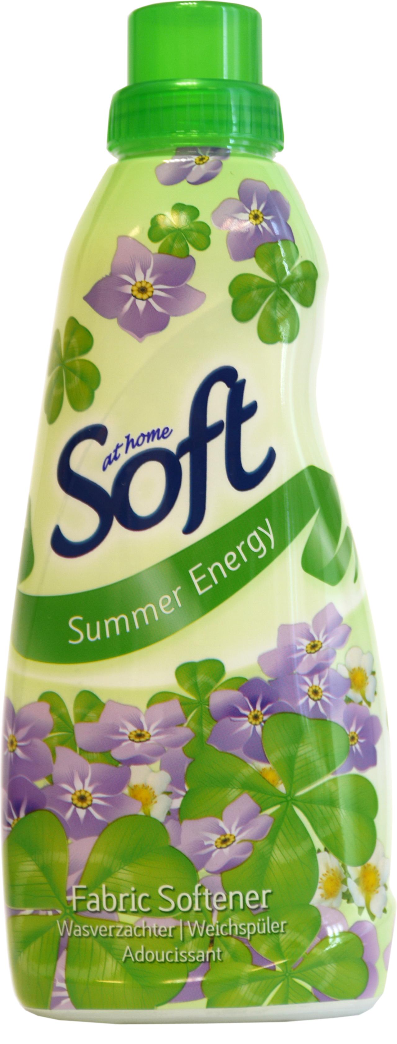 52642 - SOFT Weichspüler 750ml- Summer Energy (grün)