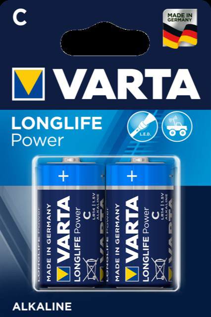 52714 - Varta Batterien Baby/R14/C 2er- High Energy