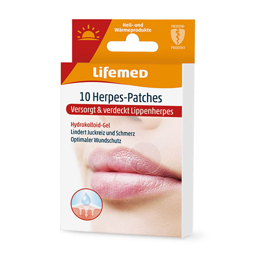 99324 - Herpes-Patches 10er, transparent